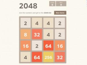 Онлайн игра 2048 (изображение №2)