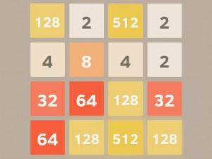 Онлайн игра 2048 (изображение №1)