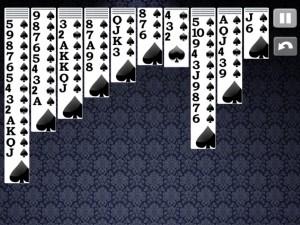 Онлайн игра Пасьянс Паук Классический (Spider Solitaire Classic) (изображение №3)