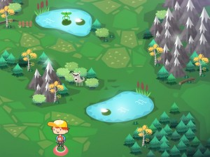 Онлайн игра Путешествие по волшебному лесу (Woodventure) (изображение №4)