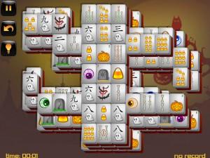 Онлайн игра Маджонг: Хэллоуин  (Halloween - Mahjong) (изображение №11)