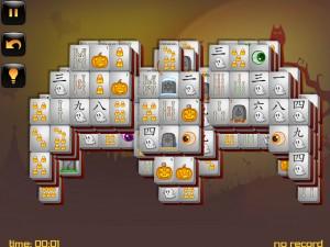Онлайн игра Маджонг: Хэллоуин  (Halloween - Mahjong) (изображение №10)