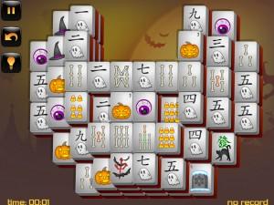 Онлайн игра Маджонг: Хэллоуин  (Halloween - Mahjong) (изображение №6)