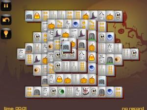 Онлайн игра Маджонг: Хэллоуин  (Halloween - Mahjong) (изображение №5)