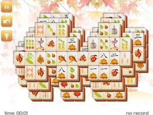 Онлайн игра Маджонг: Осенний  (Fall Mahjong) (изображение №12)