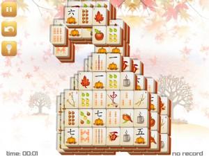 Онлайн игра Маджонг: Осенний  (Fall Mahjong) (изображение №11)