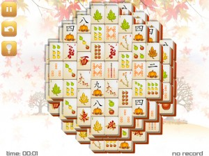 Онлайн игра Маджонг: Осенний  (Fall Mahjong) (изображение №9)