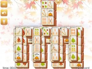 Онлайн игра Маджонг: Осенний  (Fall Mahjong) (изображение №8)