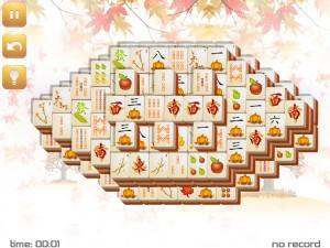 Онлайн игра Маджонг: Осенний  (Fall Mahjong) (изображение №7)