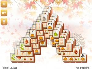 Онлайн игра Маджонг: Осенний  (Fall Mahjong) (изображение №5)