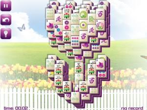 Онлайн игра Маджонг: Весенний  (Spring Mahjong) (изображение №13)