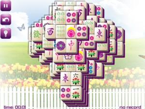 Онлайн игра Маджонг: Весенний  (Spring Mahjong) (изображение №12)