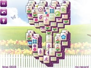 Онлайн игра Маджонг: Весенний  (Spring Mahjong) (изображение №11)
