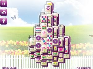 Онлайн игра Маджонг: Весенний  (Spring Mahjong) (изображение №10)