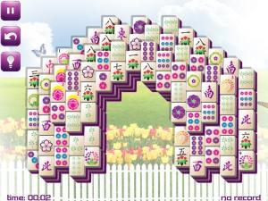 Онлайн игра Маджонг: Весенний  (Spring Mahjong) (изображение №9)