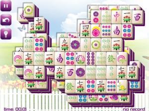 Онлайн игра Маджонг: Весенний  (Spring Mahjong) (изображение №8)