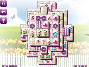 Онлайн игра Маджонг: Весенний  (Spring Mahjong) (изображение №7)