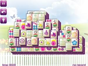 Онлайн игра Маджонг: Весенний  (Spring Mahjong) (изображение №6)