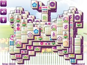Онлайн игра Маджонг: Весенний  (Spring Mahjong) (изображение №5)