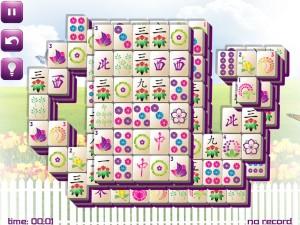 Онлайн игра Маджонг: Весенний  (Spring Mahjong) (изображение №1)