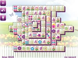 Онлайн игра Маджонг: Весенний  (Spring Mahjong) (изображение №4)