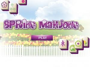 Онлайн игра Маджонг: Весенний  (Spring Mahjong) (изображение №2)