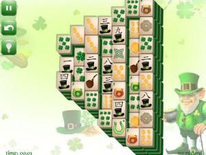Онлайн игра Маджонг: День Святого Патрика  (St. Patrick's Day Mahjong) (изображение №3)