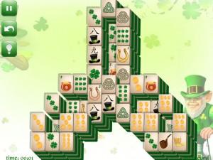Онлайн игра Маджонг: День Святого Патрика  (St. Patrick's Day Mahjong) (изображение №11)