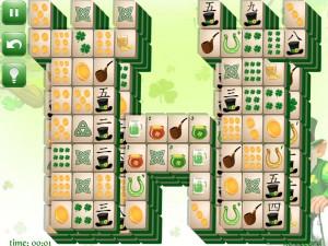 Онлайн игра Маджонг: День Святого Патрика  (St. Patrick's Day Mahjong) (изображение №10)