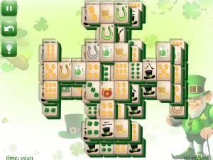 Онлайн игра Маджонг: День Святого Патрика  (St. Patrick's Day Mahjong) (изображение №9)