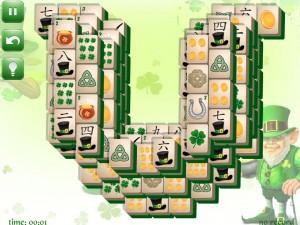 Онлайн игра Маджонг: День Святого Патрика  (St. Patrick's Day Mahjong) (изображение №7)