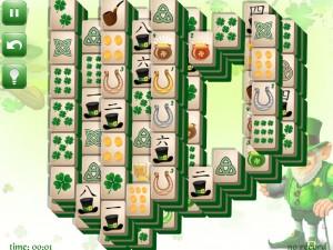 Онлайн игра Маджонг: День Святого Патрика  (St. Patrick's Day Mahjong) (изображение №6)