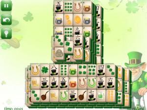 Онлайн игра Маджонг: День Святого Патрика  (St. Patrick's Day Mahjong) (изображение №5)