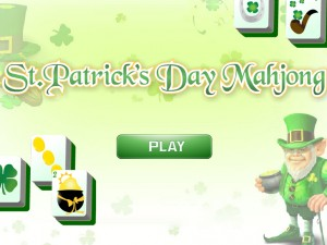 Онлайн игра Маджонг: День Святого Патрика  (St. Patrick's Day Mahjong) (изображение №2)