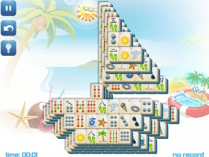 Онлайн игра Маджонг: Летний (Summer Mahjong) (изображение №13)