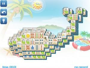 Онлайн игра Маджонг: Летний (Summer Mahjong) (изображение №1)