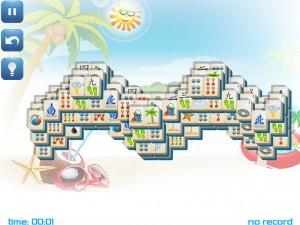Онлайн игра Маджонг: Летний (Summer Mahjong) (изображение №12)