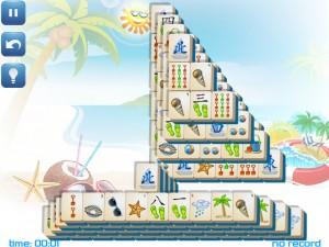 Онлайн игра Маджонг: Летний (Summer Mahjong) (изображение №11)