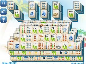 Онлайн игра Маджонг: Летний (Summer Mahjong) (изображение №9)