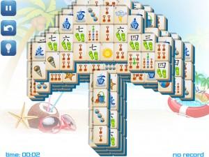 Онлайн игра Маджонг: Летний (Summer Mahjong) (изображение №8)