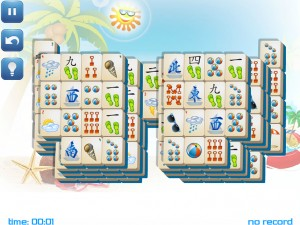 Онлайн игра Маджонг: Летний (Summer Mahjong) (изображение №7)
