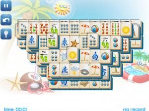 Онлайн игра Маджонг: Летний (Summer Mahjong) (изображение №6)