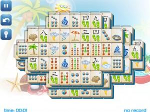 Онлайн игра Маджонг: Летний (Summer Mahjong) (изображение №5)