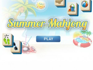 Онлайн игра Маджонг: Летний (Summer Mahjong) (изображение №2)