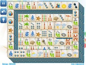 Онлайн игра Маджонг: Летний (Summer Mahjong) (изображение №4)