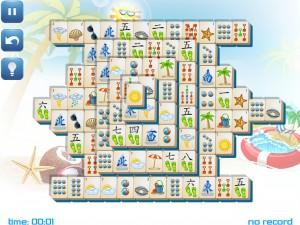 Онлайн игра Маджонг: Летний (Summer Mahjong) (изображение №14)