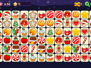 Онлайн игра Соединение пар - Коннект Рождество (Onet Connect Christmas) (изображение №4)