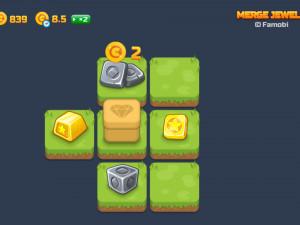 Онлайн игра Слияние Драгоценных Камней (Merge Jewels) (изображение №6)