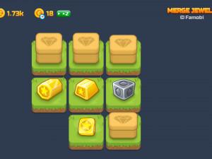 Онлайн игра Слияние Драгоценных Камней (Merge Jewels) (изображение №3)