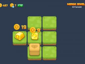 Онлайн игра Слияние Драгоценных Камней (Merge Jewels) (изображение №8)